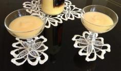 Untersetzer aus Spitze für Gläser, Flaschen, Vasen