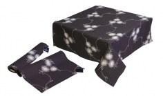 Tischdecken mit Stoffstickerei (ohne Spitze)