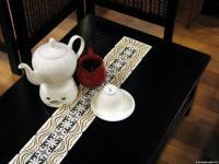 Tischbänder aus Spitze