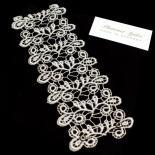 Breites Armband Viviana - Silbergrau