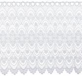 Gardine Design 68109 60 cm | Weiß