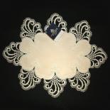 Design Nizza - 25 x 45 cm oval Polyestersatin S