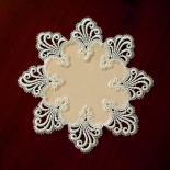 Design Nizza - 32 cm rund Polyestersatin S