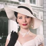 Collier Violetta - Weiß