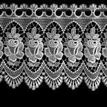 Gardine Design 68169 Weiß