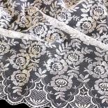 Tüll-Allover T12 in Weiß, 110 cm breit - Muster