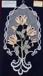 Fensterbild Rosenbäumchen