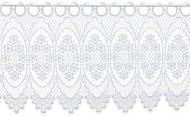 Gardine Design 68109 30 cm | Weiß