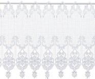 Gardine Design 68504 Weiß