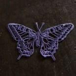 Motiv Schmetterling - Indigo Blau
