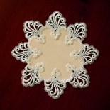 Design Nizza - 28 cm rund Polyestersatin S