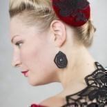Ohrringe Greta - Schwarz