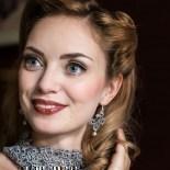 Ohrringe Viviana - Silbergrau