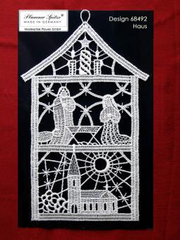 Fensterbild Haus