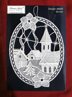 Fensterbild Kirche