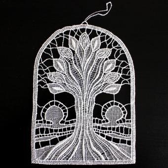 Fensterbild Baum