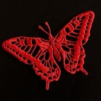 Motiv Schmetterling - Rot