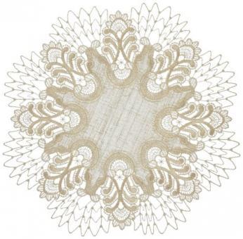 Tischdecke Design Oslo - 36 cm rund