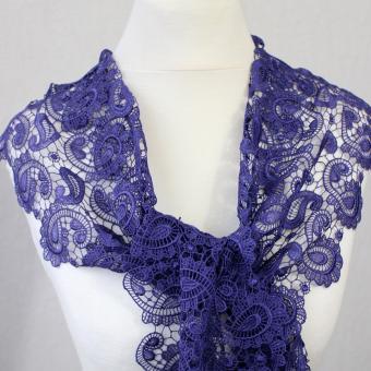 Schal Kate - Ultra Violet (Flieder)