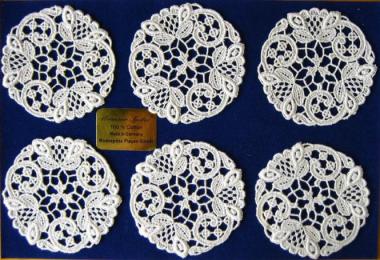 Gläserset Design 68400 - 6 Stück aus 100% Baumwolle