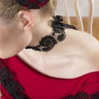 Halsband Kate - Schwarz