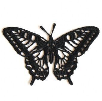 Motiv Schmetterling - Schwarz
