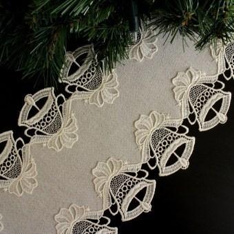 Design Mittenwald - Tischband 23 x 160 cm oval