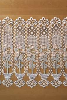 Scheibengardine Spitze Design 68730 50 cm