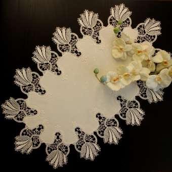 Design Bordeaux - 45 x 80 cm oval