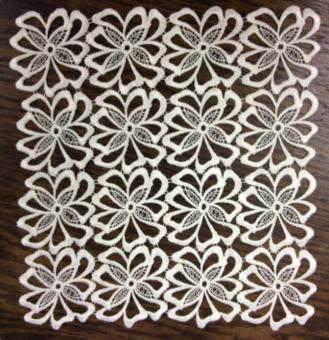 Tischdecke Turin klein | 31x31 cm