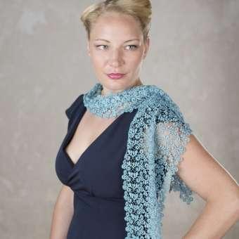 Stola Viviana - Türkis
