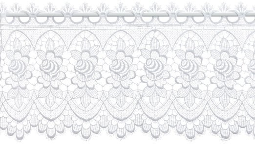 Gardine Design 68264 32 cm | Weiß