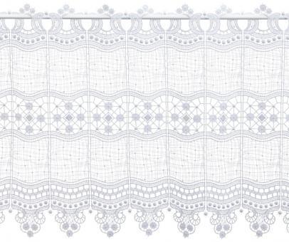 Scheibengardine Spitze Design 69348 45 cm