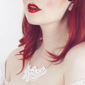 Kette Iris - Creme