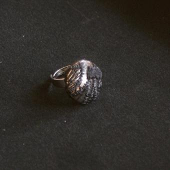 Ring Georgia - schwarze Spitze