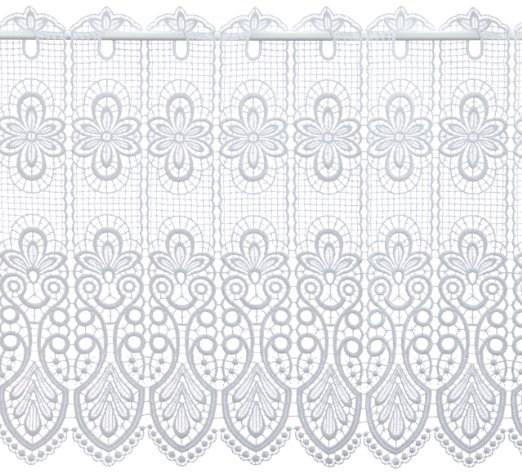 Scheibengardine Spitze Design 68450 49 cm