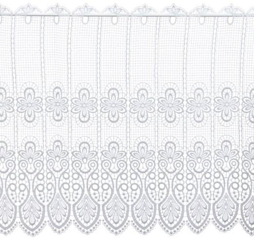 Scheibengardine Spitze Design 68450 62 cm