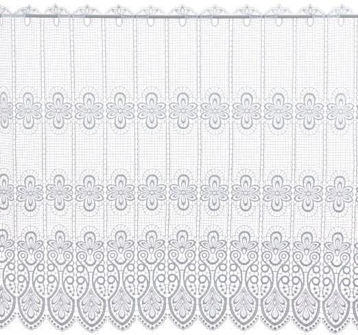 Scheibengardine Spitze Design 68450 83 cm