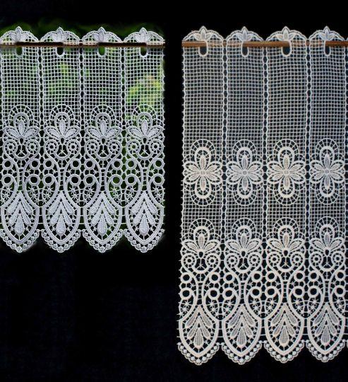Scheibengardine Spitze Design 68450