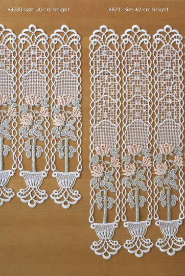 Scheibengardine Spitze Design 68730