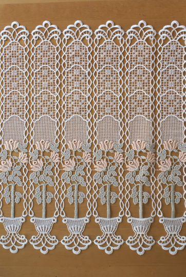 Scheibengardine Spitze Design 68730 62 cm