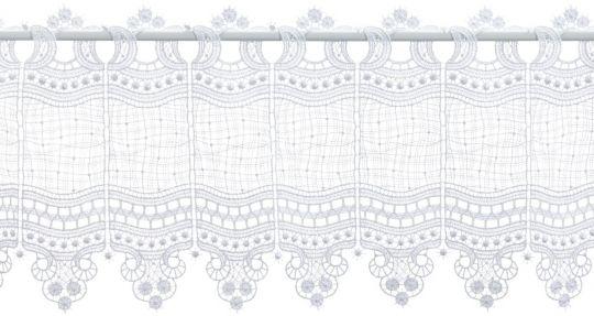 Scheibengardine Spitze Design 69348 28 cm
