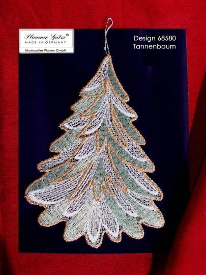 Fensterbild Tannenbaum