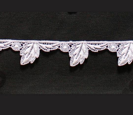 Borte aus Bio-Baumwolle Design 69582 - weiss