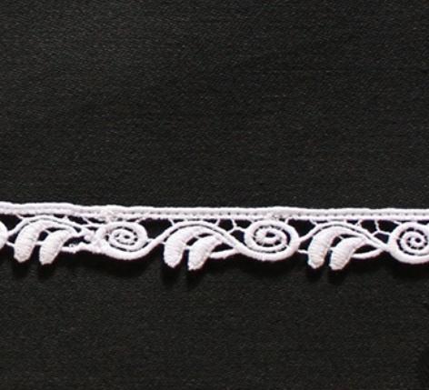 Borte aus Bio-Baumwolle Design 69746 - weiss
