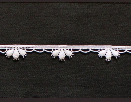 Borte aus Bio-Baumwolle Design 69756 - weiss