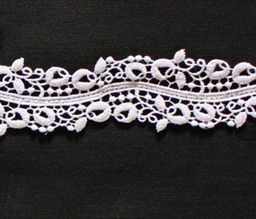 Borte aus Bio-Baumwolle Design 69760 - weiss