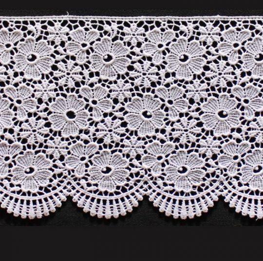 Borte aus Bio-Baumwolle Design 84964 - weiss <250m Abnahme ORGANIC