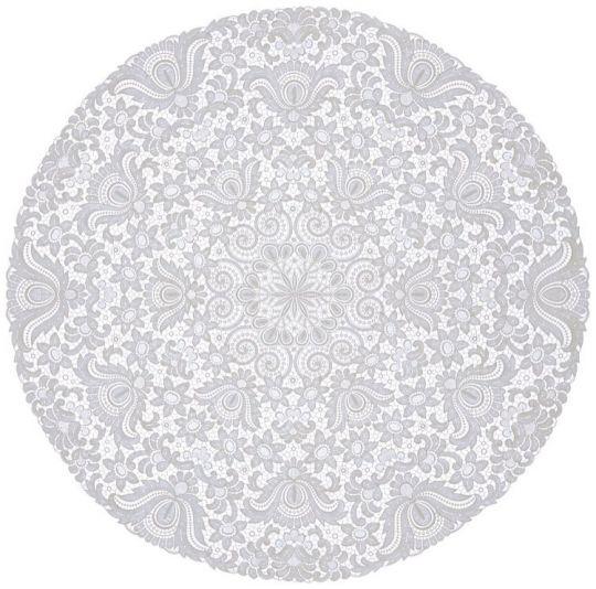 Design Plauen - 110 cm rund