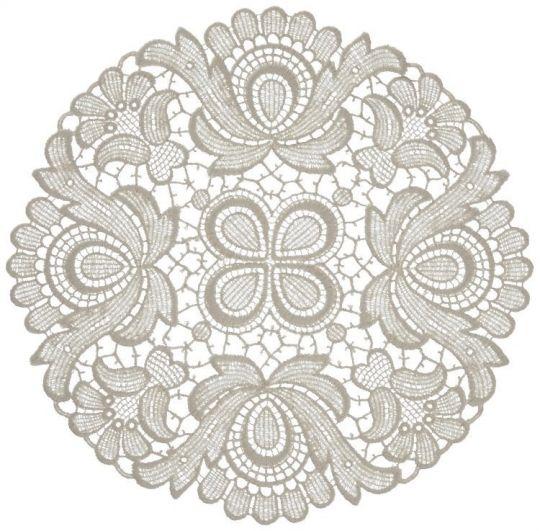 Design Plauen - 22 cm rund Weiß